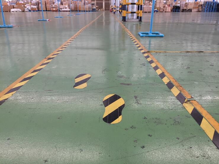 Lean Warehouse Management - Safety
