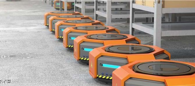 Warehouse Technology - AGV