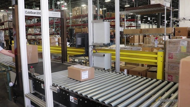 Dimensioning Parcels in Warehouse