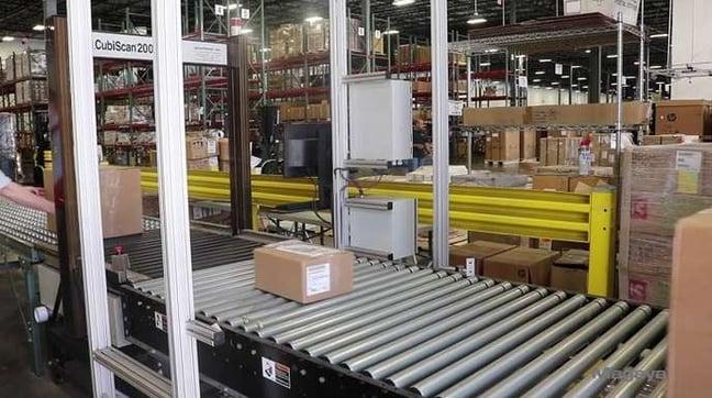Shipping Process - Dimensioning
