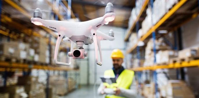 Warehouse Digitalization - Drone