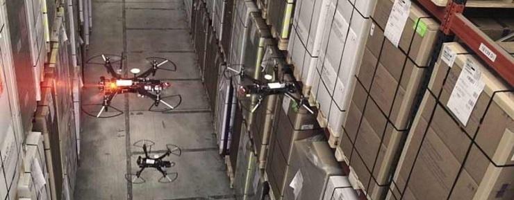 warehouse digitalization via UGVs