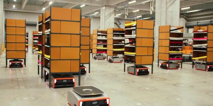 Warehouse Digitalization - AGV