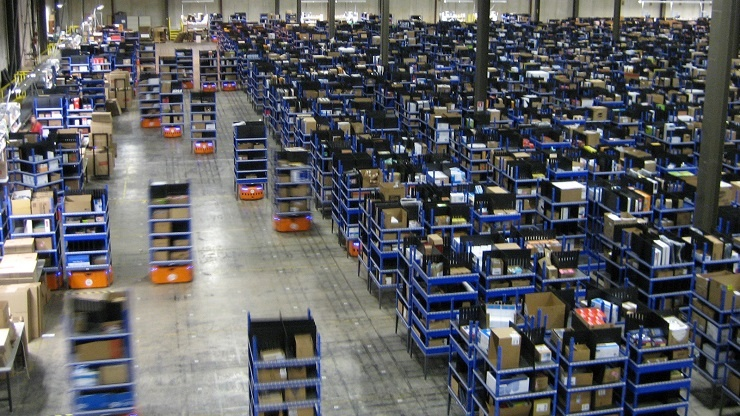 Amazon Robotics - the perfect example of warehouse digitalization