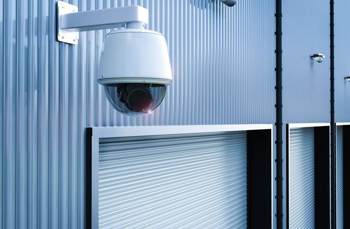 Warehouse Theft - CCTV