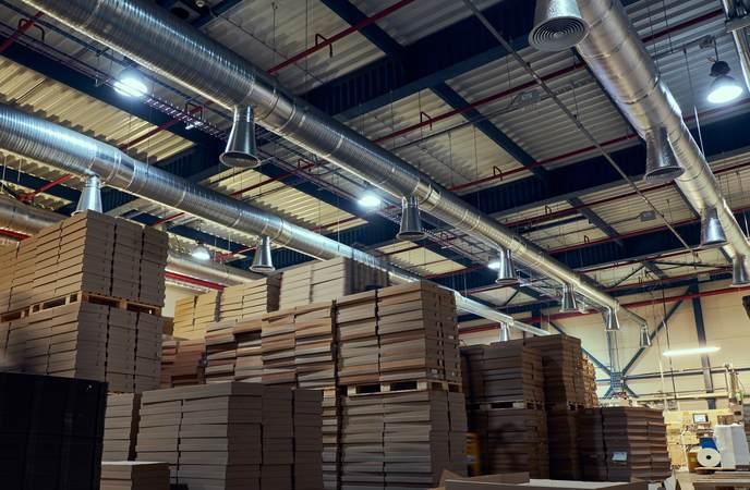 Sustainable Warehouse - Ensure Proper Ventilation