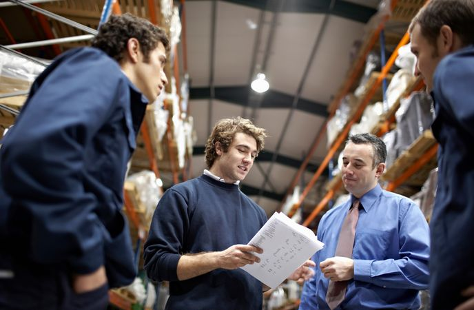 Training for Warehouse Workers - Team Building
