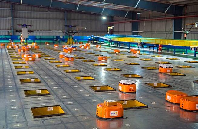 Types of Warehouses - Automated Warehouse