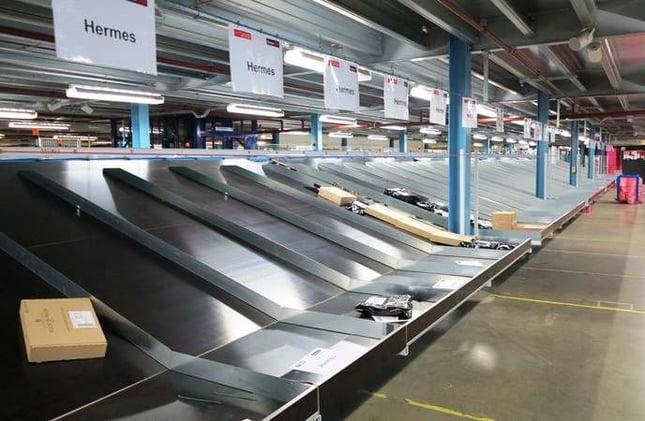 Types of Warehouses - Sortation Center