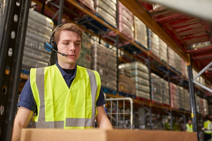 Voice Headsets - Warehouse Wearable Technology