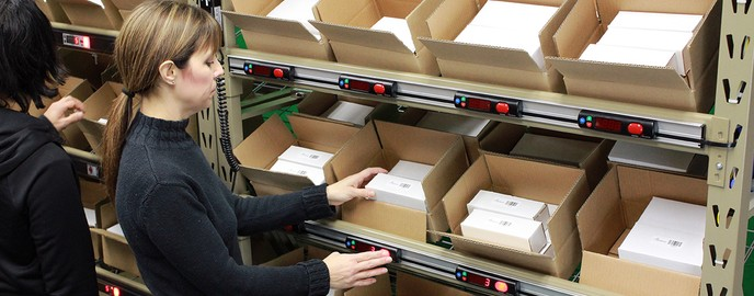 Warehouse Automation - Pick to Light Systems