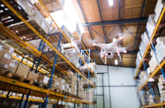 Warehouse Automation - Unmanned Aerial Vehicles
