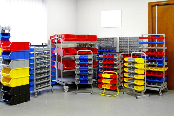 Different Container Sizes to Optimize Storage Process