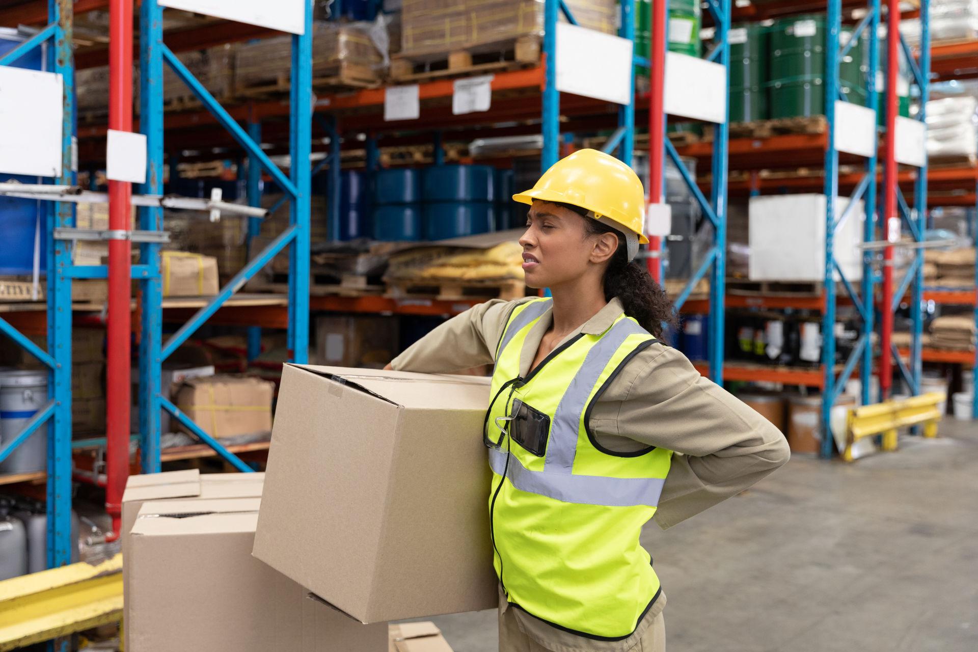Warehouse Equipment - Injuries