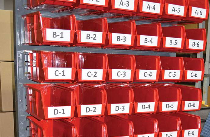 Warehouse Labels - Consistency