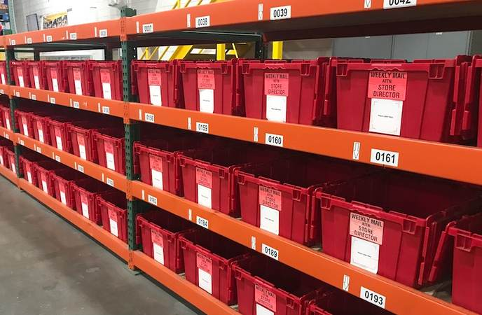 Warehouse Labels - Warehouse Bin and Tote Labels