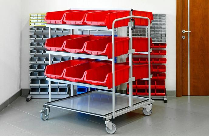 Warehouse Picking Cart - Batch Picking