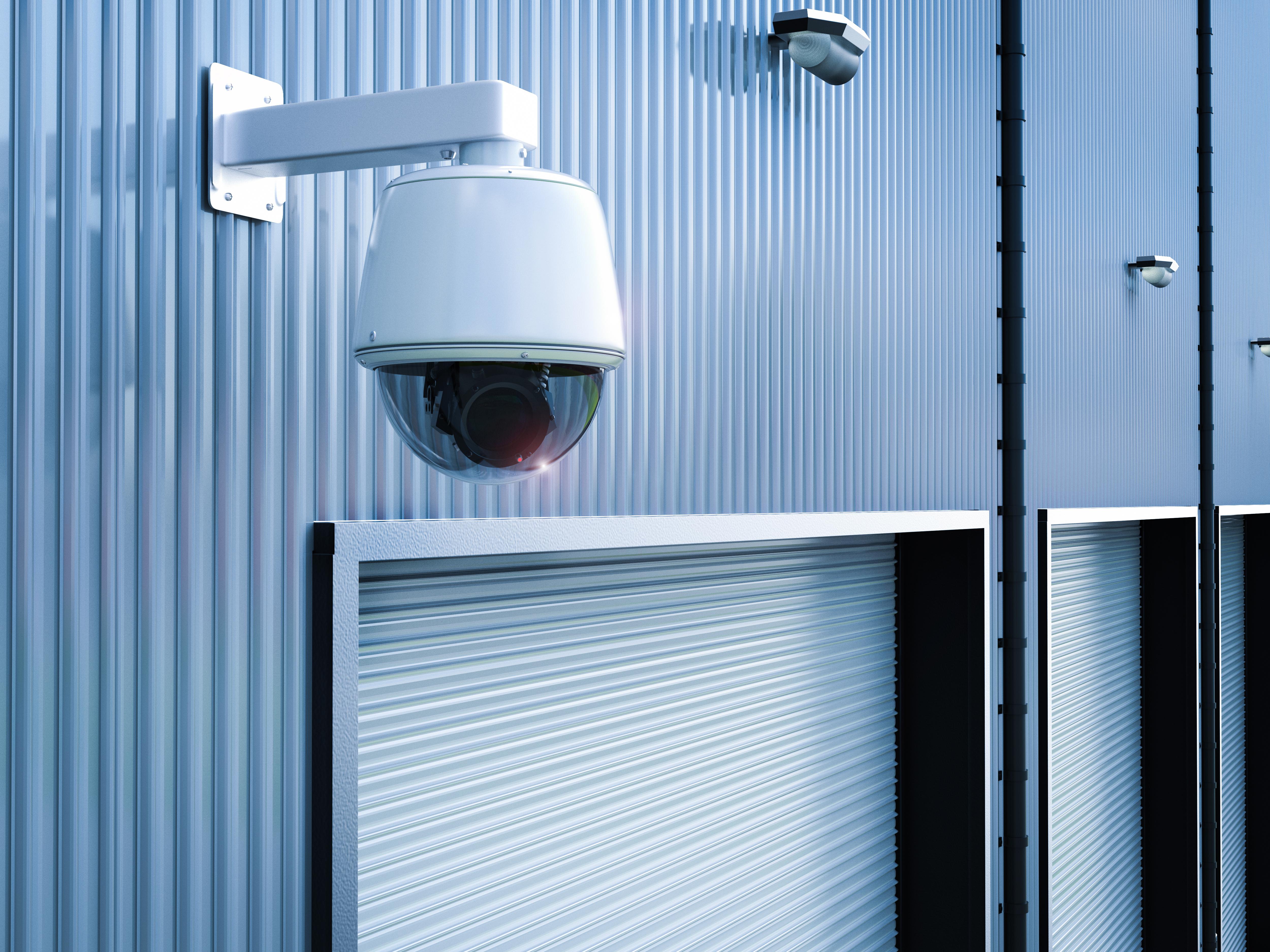 Warehouse CCTV Security Camera