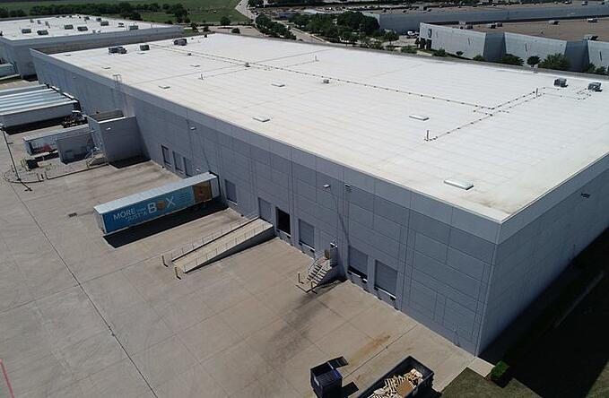 Warehouse Ventilation - White Roof