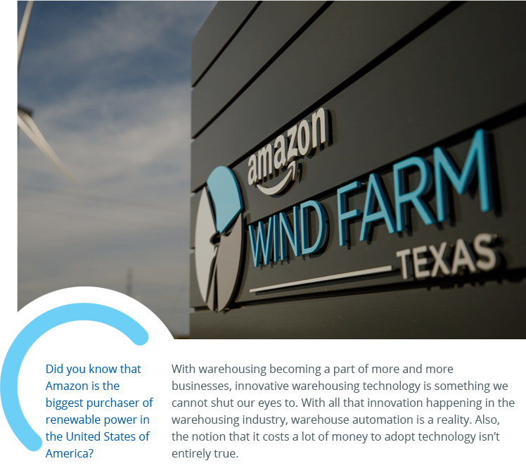 Amazon wind farm