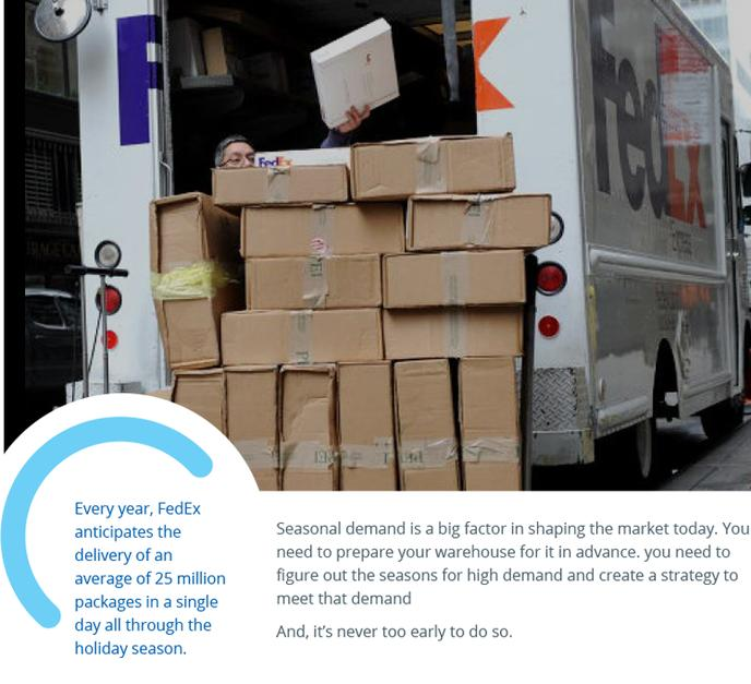 Warehouse Challenges - Seasonal Demand