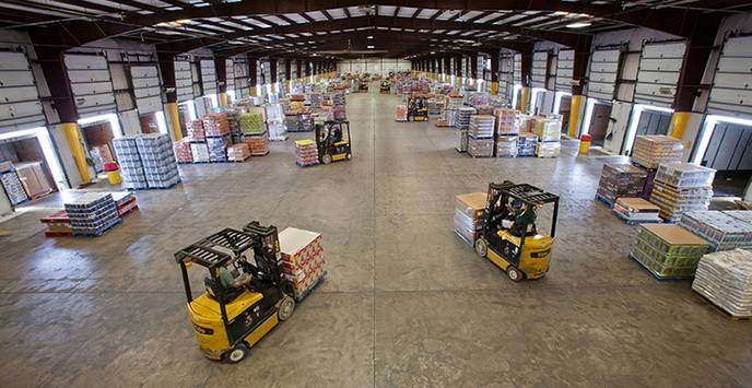 Cross Docking - High Product Turnover Rates