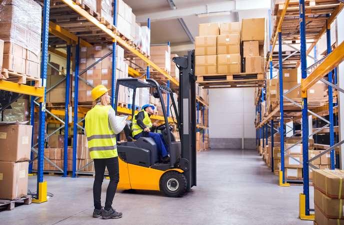 Warehouse Ventilation - Emission Build-up