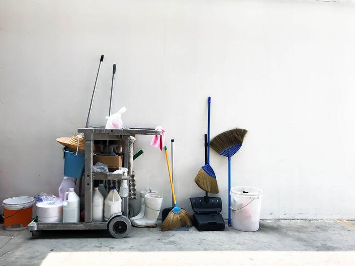 Warehouse Cleaning - Equipment
