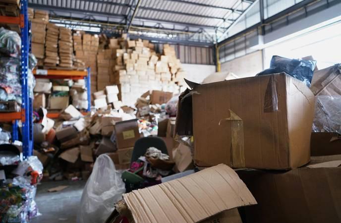 Warehouse Organization - Reduces Theft