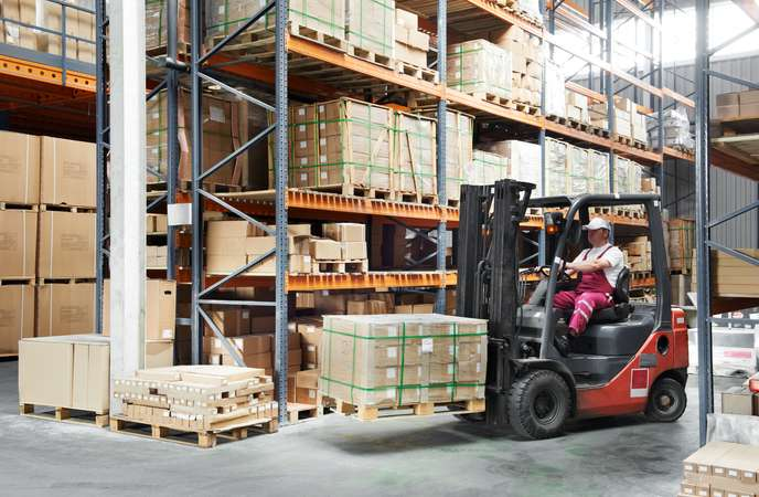 Warehouse KPI - Storage