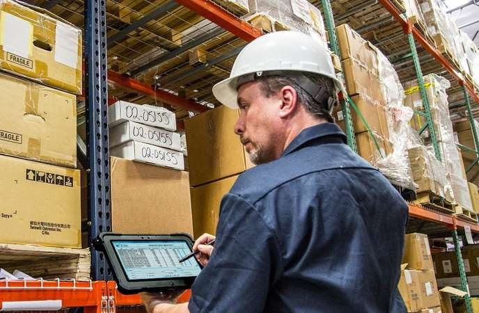 Warehouse Mobile Solutions - Rugged Tablet